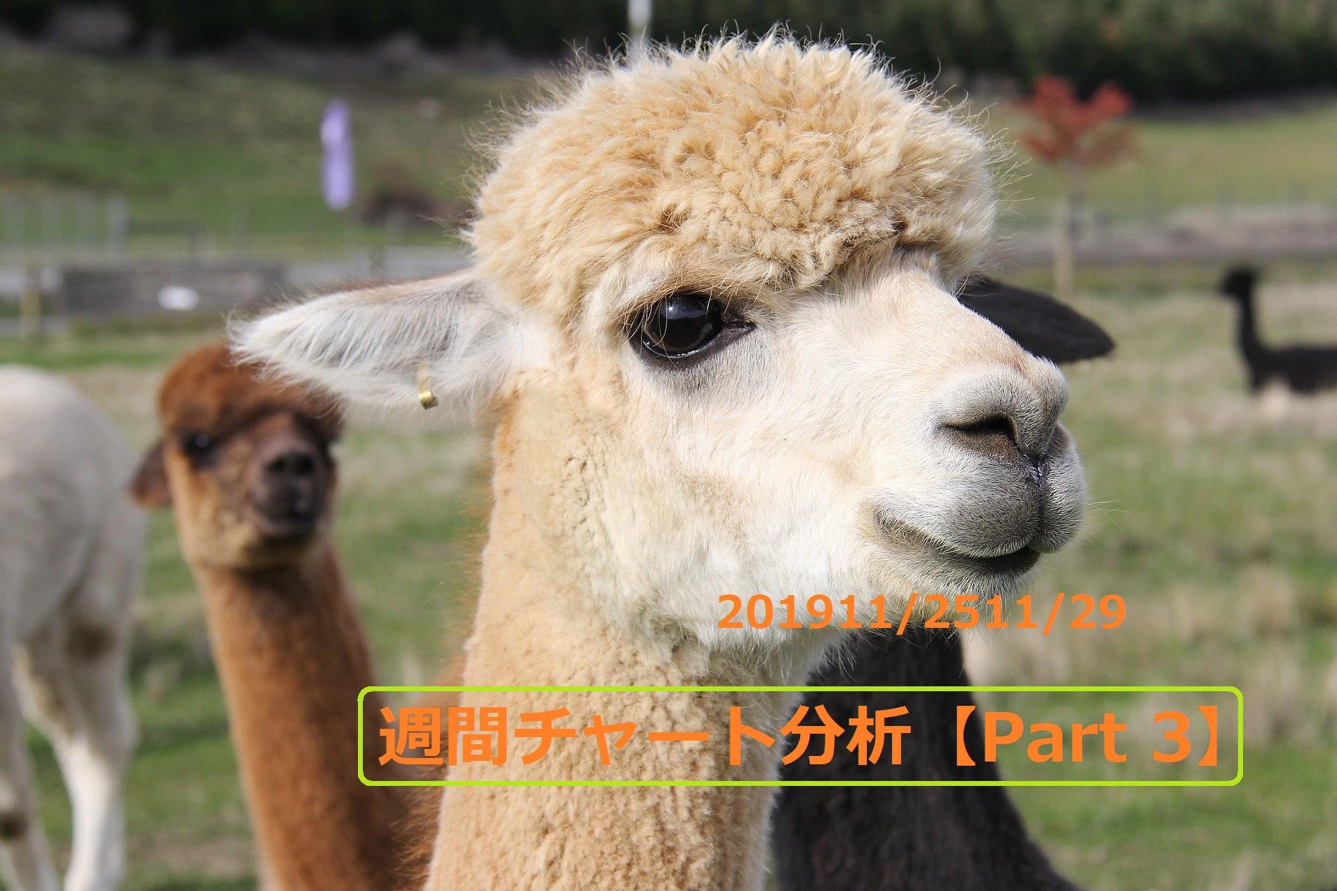 【FX】週間チャート分析【2019・11/25~11/29】【Part 3】