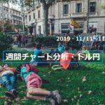【FX】週間チャート分析・ドル円【2019・11/11~11/15】