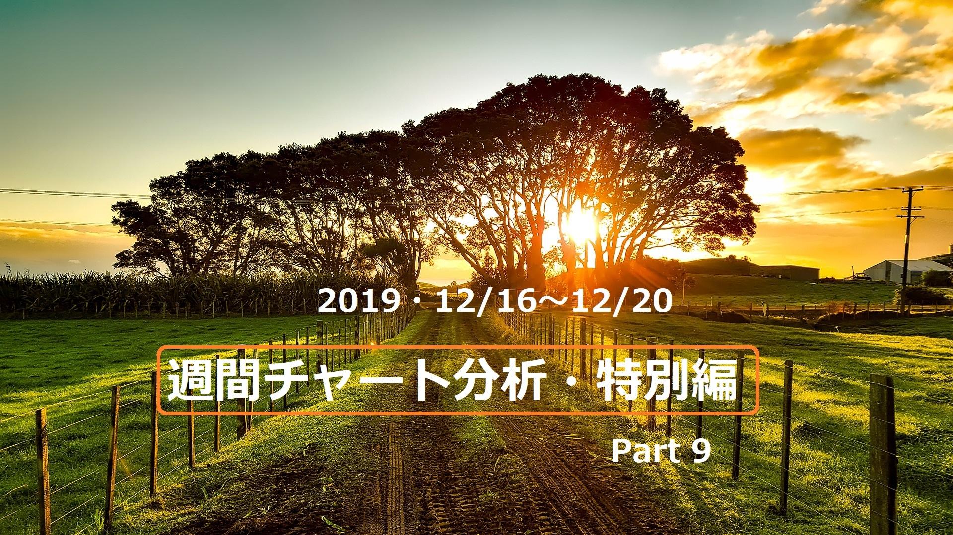 【FX】週間チャート分析・特別編Part9【2019・12/16~12/20】