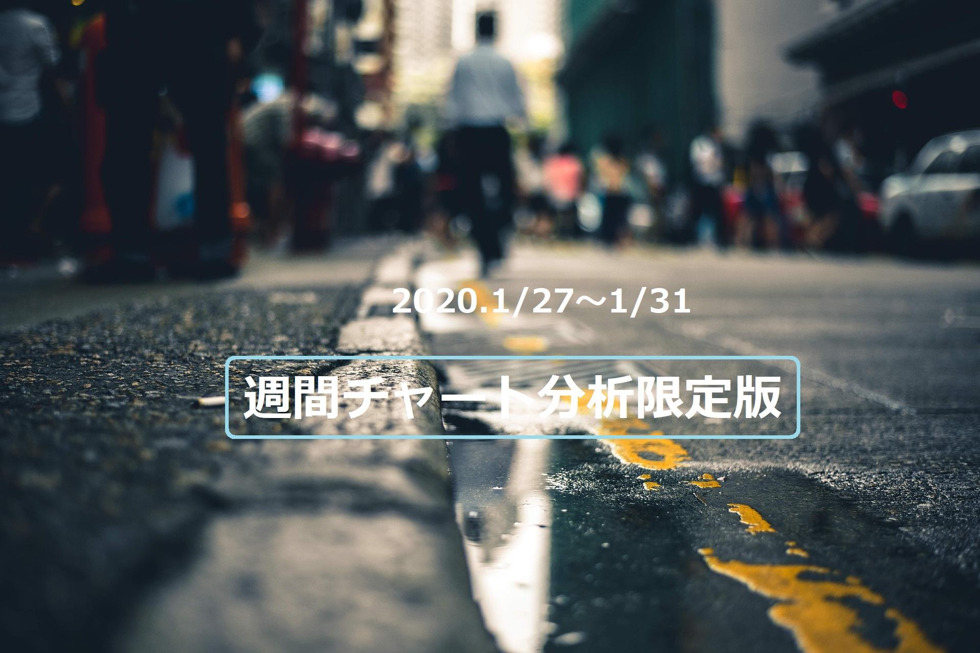 【FX】週間チャート分析限定版【2020.1/27~1/31】