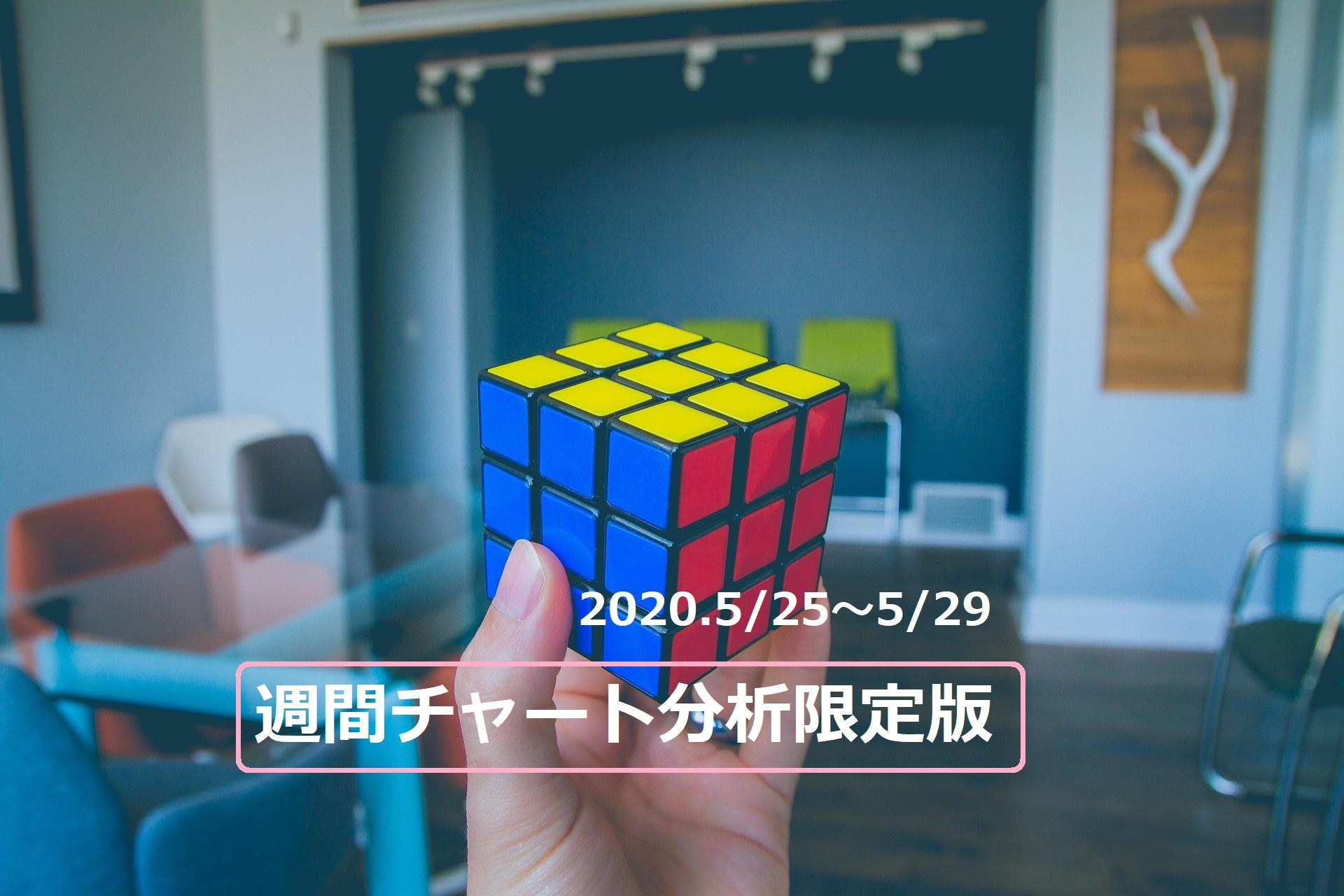 【FX】週間チャート分析限定版【2020.5/25~5/29】
