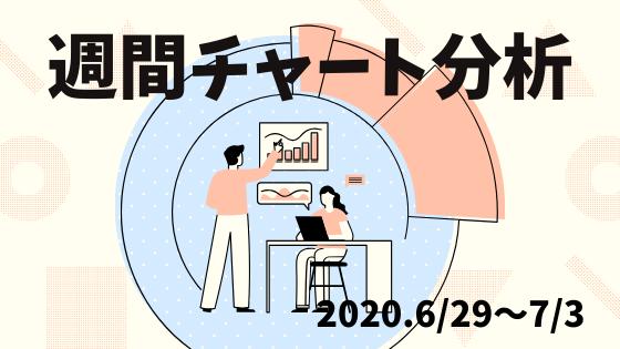 【FX】週間チャート分析・ドル円【2020.6/29~7/3】