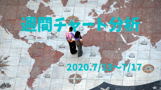【FX相場予測】週間チャート分析・ドル円【2020.7/13~7/17】