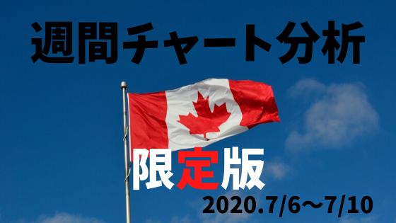 【FX】週間チャート分析限定版【2020.7/6~7/10】