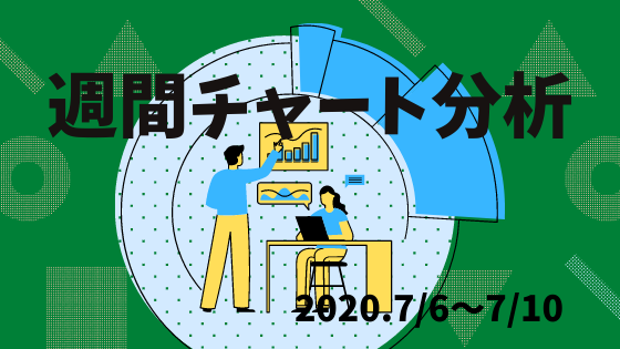 【FX相場予測】週間チャート分析【2020.7/6~7/10】