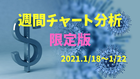 【FX相場予測】週間チャート分析限定版【2021.1/18~1/22】